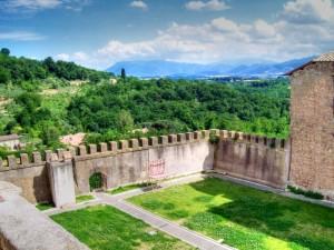 Particolare del Castello dei Principi Colonna