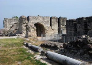 Le mura di cinta della Rocca