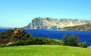 Isola di Tavolara nel Parco Marino