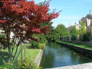 Il fiume Tesina a Bolzano Vicentino