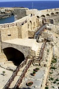 La fortezza di Le Castella