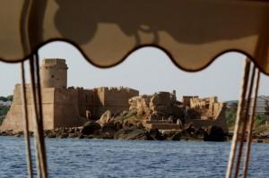 Le Castella vista dal mare