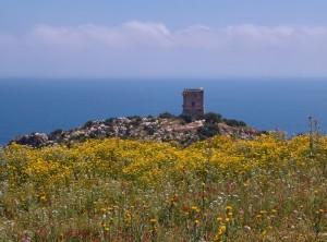 torre doria scopello