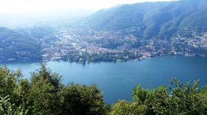 Panorama dal Lago di Como