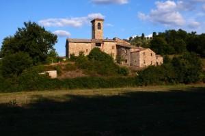 chiesa di campagna nei pressi del Castello di Gaiche