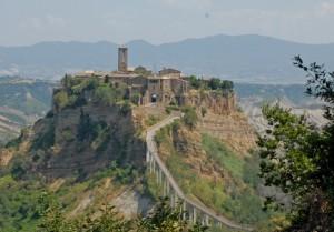 L'invitta rocca Civita di Bagnoregio