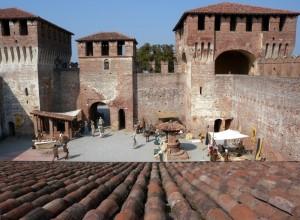 Soncino, rievocazione storica al Castello