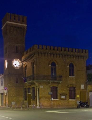 Lagosanto - Sulla Torre di Lagosanto sono le 7 e 40