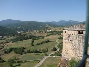 Torre del Castello di Bardi