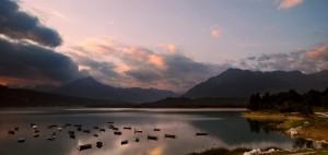 la poesia del lago di santa croce.