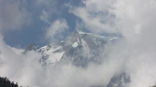 Macugnaga - nuvole