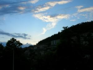 Nubi sfilacciate…come ovatta