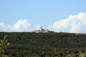 L'ultimo paese della Toscana maremmana