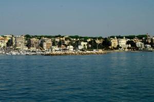 Dal porto di Anzio