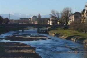 Il Torrente Parma dal Ponte delle Nazioni