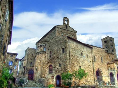Anagni - Scorcio del Centro Storico e Cattedrale