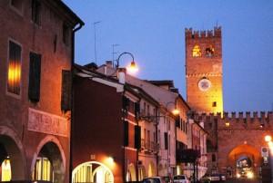 noale la torre e il centro storico