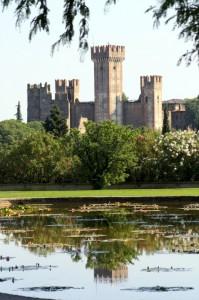 Castello Scaligero dal Parco Sigurtà
