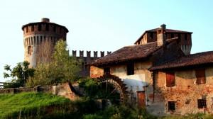 Il Castello di Soncino visto dal Mulino