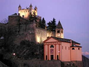 Castello e chiesa di Saint Pierre