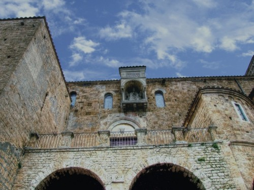 Anagni - Bastione della Cattedrale