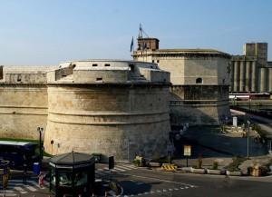 Parte destra del forte