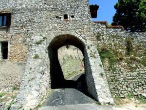 Boville Ernica - particolare punto d'uscita del Bastione