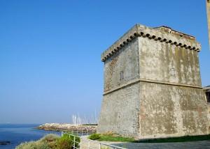 Torre Marangone vista mare