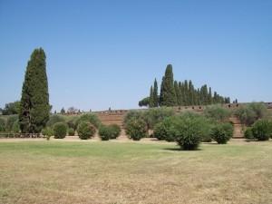 Mura di protezione della Villa dell'Imperatore Adriano