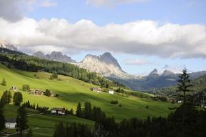 Vista della Val Badia