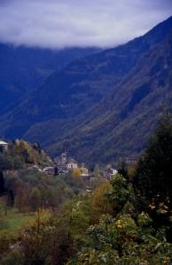 panorama di Rassa, Valsesia