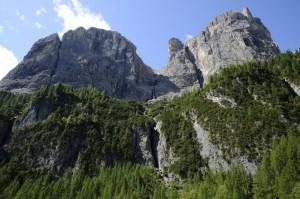 Le cascate del Pisciadù