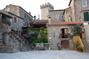 la Torre del Castello di Capalbio