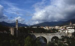 Dronero, Val Maira, panorama