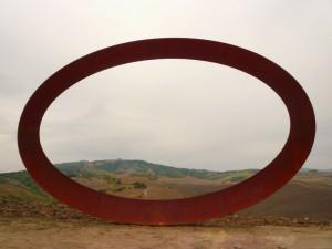 panorama dentro la scultura