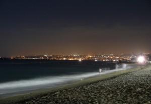 …di sera …sul mare