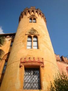 torre del castel del Roccolo, Busca