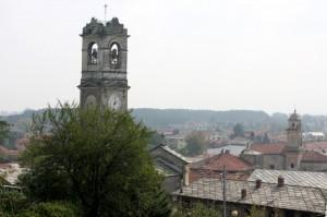 Il campanile e i tetti dal BELVEDERE