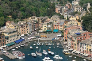 Panorama su Portofino
