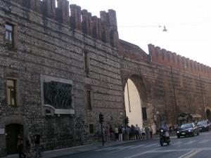 Mura merlate di Via Pallone