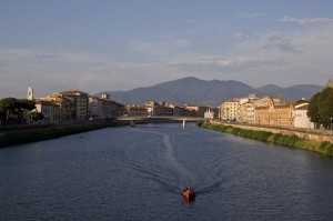 L'arno a Pisa