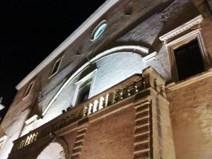 Latiano, il castello di notte