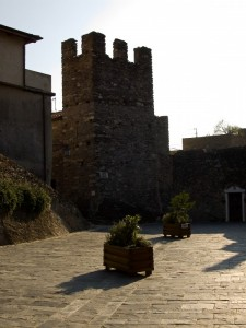 La torre di Castelvecchio