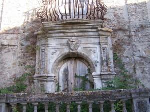 Portale di Palazzo Foti
