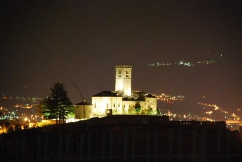 Sarre - esterno notte: castello 5