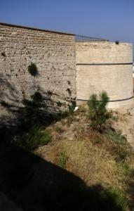 """Le mura ed il torrione di """"Carlo V"""""""