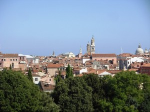 I tetti e i campanili di Venezia