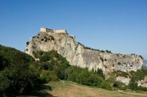 La Sella della Rocca di San Leo