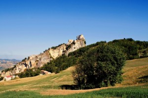 Panorama Rocca di San Leo