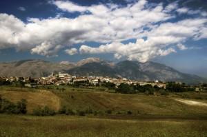 Panorama Torricella Peligna e la Maiella
